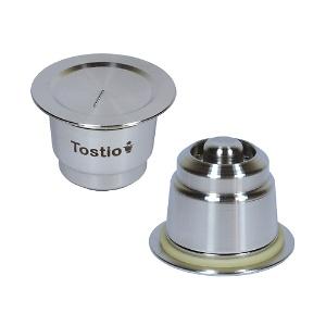 Novo sistema de pressão da Cápsula Reutilizável Tostio Nespresso