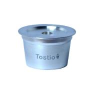 Cápsula Reutilizável Tostio Alumínio compatível com Três Corações