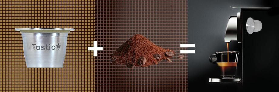 Como utilizar a cápsula Tostio em sua Nespresso®