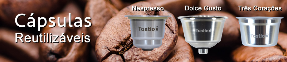 Cápsulas Nespresso recarregáveis Tostio