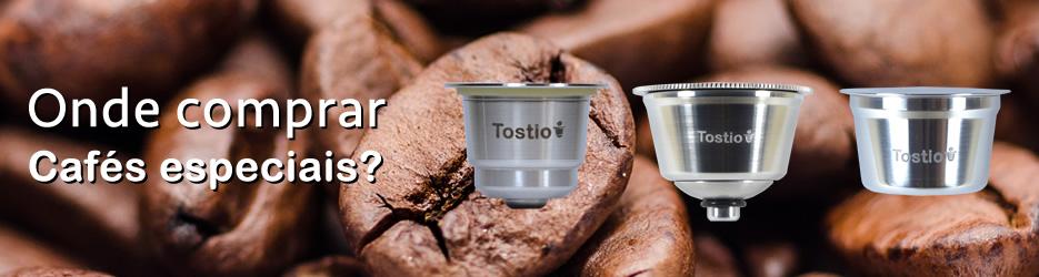 Onde comprar cafés especiais para colocar na cápsula Tostio